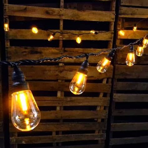 Edison Bulb String Lights   Wedding Lighting   Edison