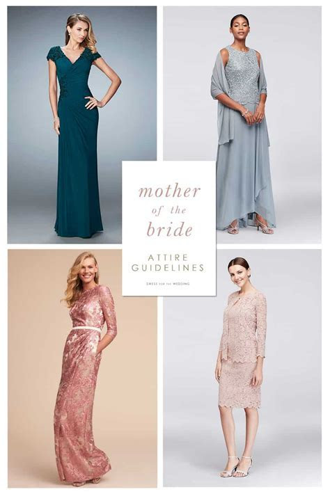 Mother of the Bride Attire Guidelines