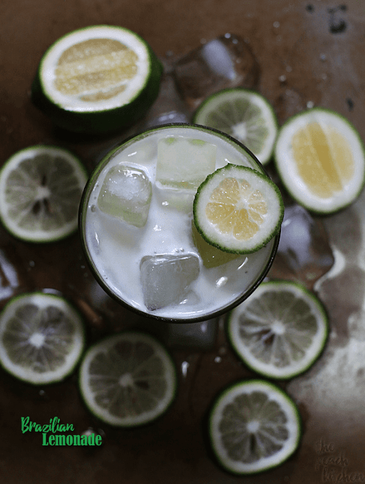 Brazilian Lemonade | The Peach Kitchen