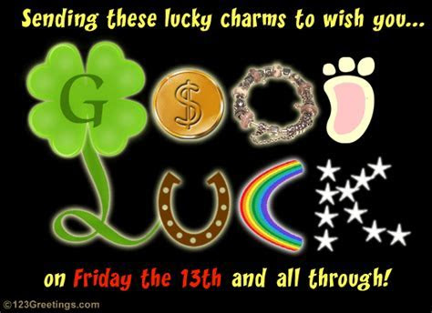 Lucky Charms On Friday the 13th. Free Friday the 13th