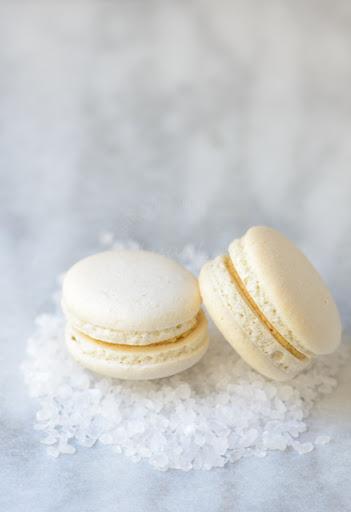 Salted-Butter Caramel Macarons