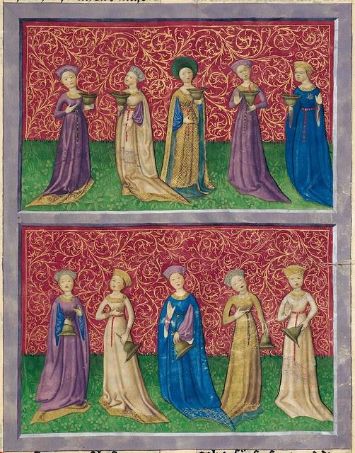 15th century Bavarian illuminated manuscript bible