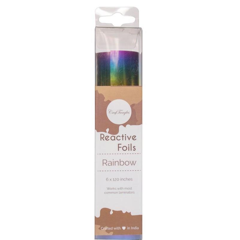 Rainbow Reactive foil