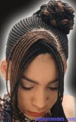 Ghana Weaving Hair Styles For Kids