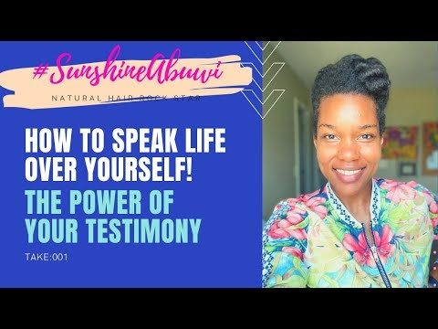 The Power of Your Testimony.