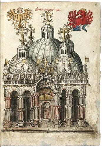 Konrad von Grünenberg - Beschreibung der Reise von Konstanz nach Jerusalem 1487 c