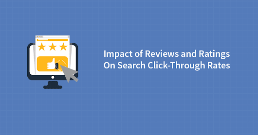 Impact of Reviews and Ratings on Search Click-Through Rates