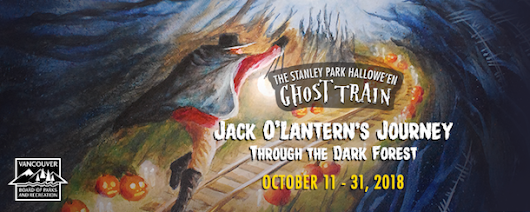 Stanley Park Halloween Ghost Train 2018