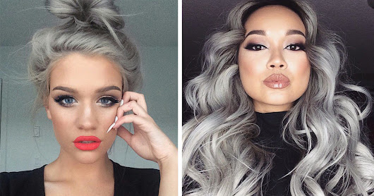 'Granny' Hair Trend: Young Women Are Dyeing Their Hair Gray