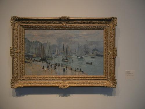 DSCN7955 _ Le Havre, Bateau de Pêche Sortant du Port, 1874, Claude Monet (1840-1926), LACMA