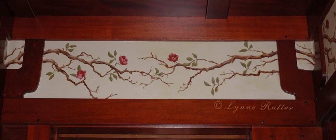 The Ornamentalist Arts And Crafts Flowering Frieze