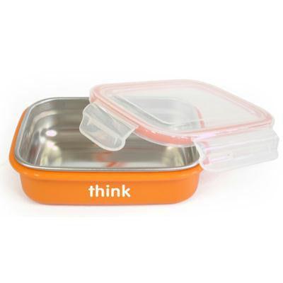 Thinkbaby BPA Free Orange Bento Box