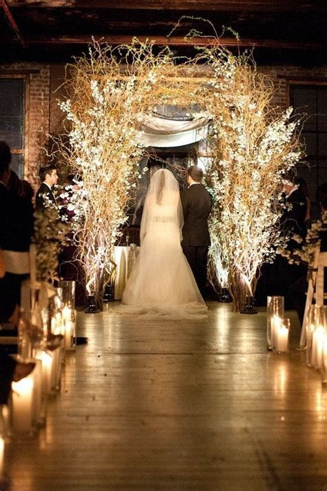Night wedding by Frey   Ceremony Decor   Pinterest