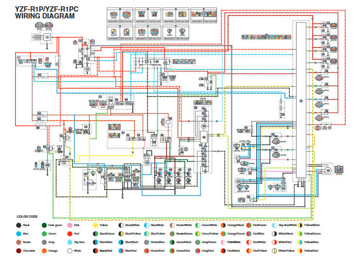 Diagram  2005 Yamaha Fjr1300 Wiring Diagram Full Version
