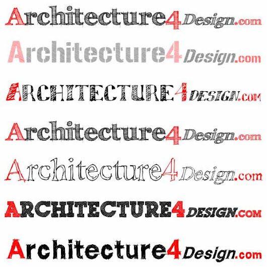 64 sketch fonts for architectural presentation | Architecture for Design