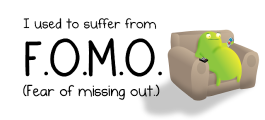 I used to suffer from FOMO - The Oatmeal