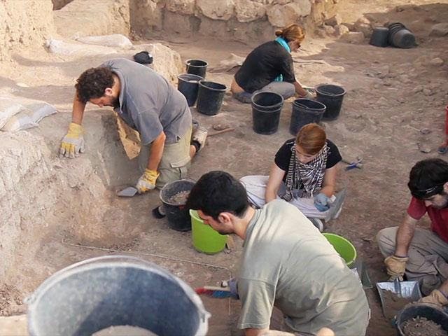 Temple Mount Sifting Project, Photo, CBN News