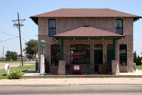 restored magnolia gas station
