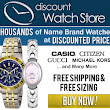 New Watch - Up To 90% Off - Free Shipping - Large Selection of Name Brand Watches - Thousands of Watch Daily Deals and Super Specials