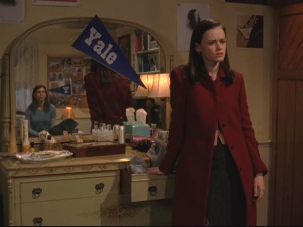 Lorelai's house-Rory's room