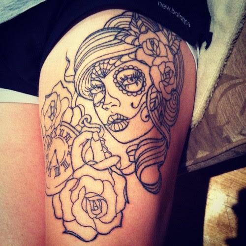 Cute Rose Tattoos Outline Tattoomagz
