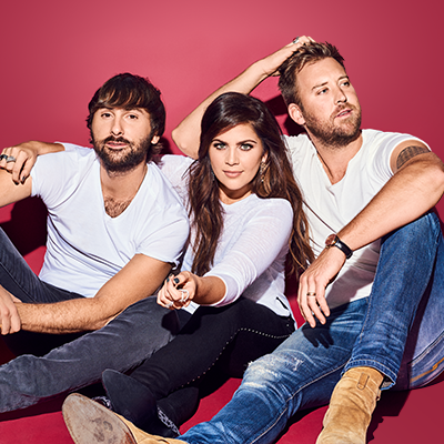 LADY ANTEBELLUM WITH KELSEA BALLERINI & BRETT YOUNG