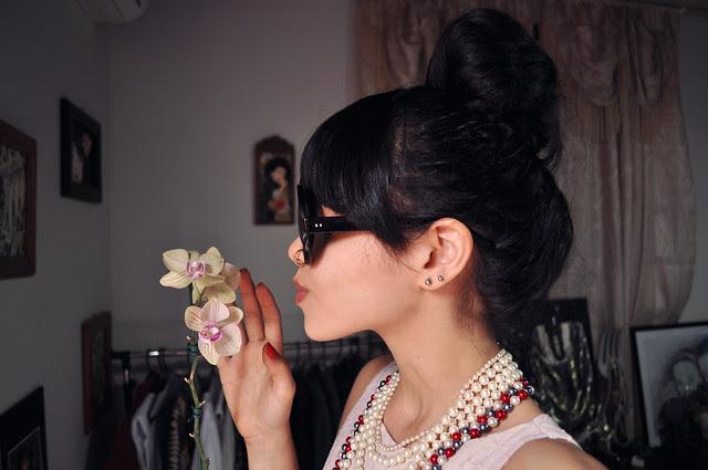 Orquídea e turbante