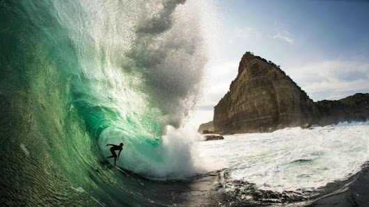 'It became a passion': big wave surf snapper has the world at his feet