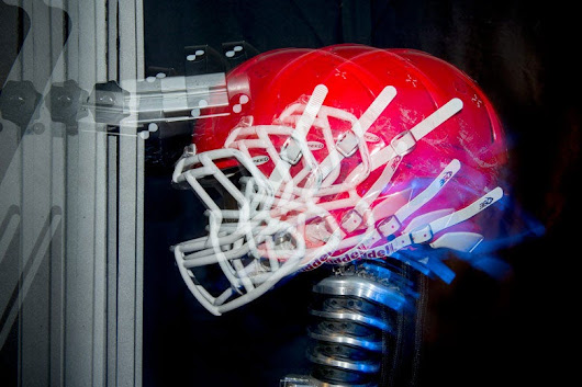 Stanford research suggests football helmet tests may not account for concussion-prone actions