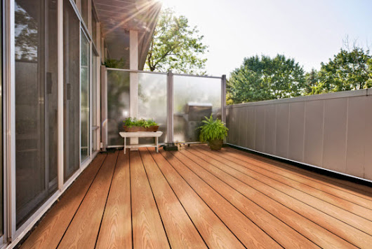 All Decked Out: Wood Vs. Composite Decking Material