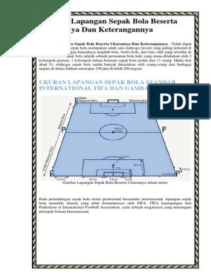 Lapangan Sepak Bola Dan Keterangan : lapangan, sepak, keterangan, Gambar, Lapangan, Sepak, Keterangannya, Tempat, Berbagi