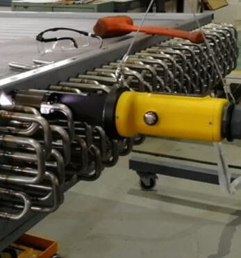Titanimu Tube To Tube Sheet Orbital Welding For Stainless Steel U Tubing Weld