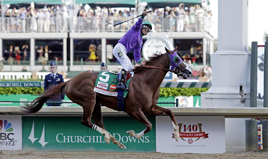 Calfornia Chrome wins 140th running of the Kentucky Derby