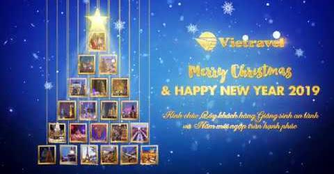 Kính chúc Quý khách hàng Giáng sinh an lành và Năm mới ngập tràn hạnh phúc | Vietravel