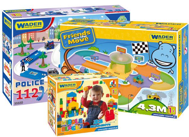 Zestawy zabawek Wader /materiały promocyjne