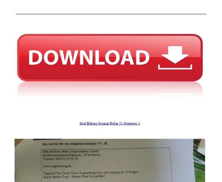 Kunci Jawaban Bahasa Jerman Kelas 11 Web Site Edukasi