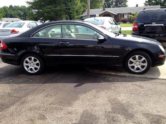 Used 2004 Mercedes-Benz CLK-Class for Sale in Mount Orab OH 45154 Crosstown Motors