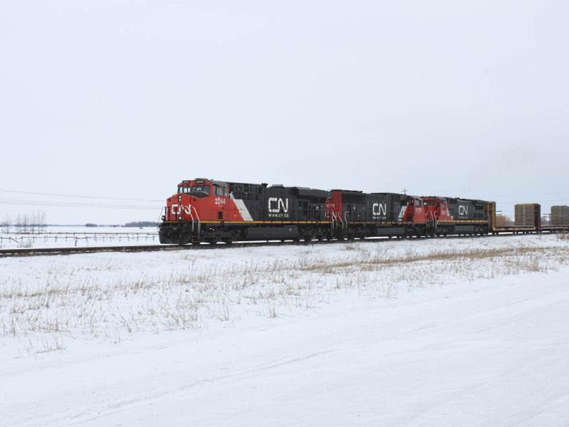 CN 2244 near Winnipeg