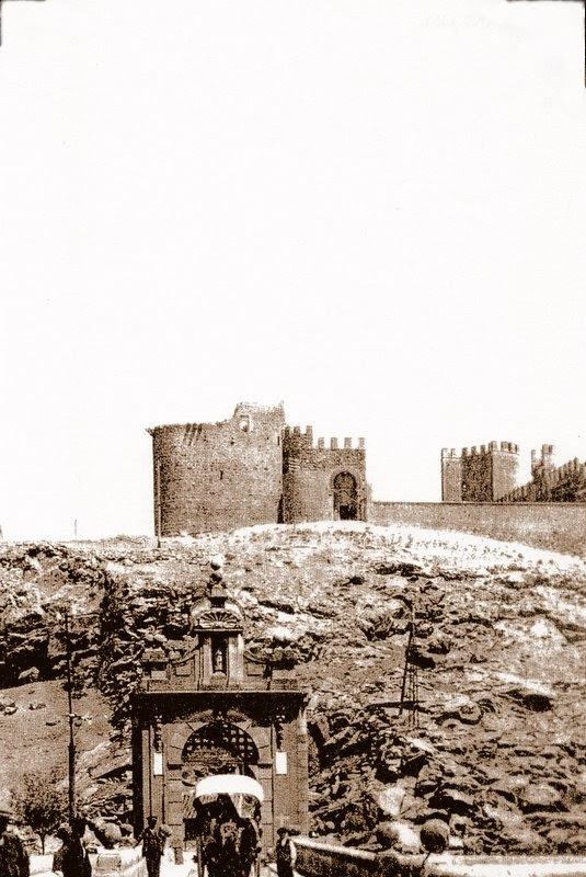 Castillo de San Servando y Puente de Alcántara