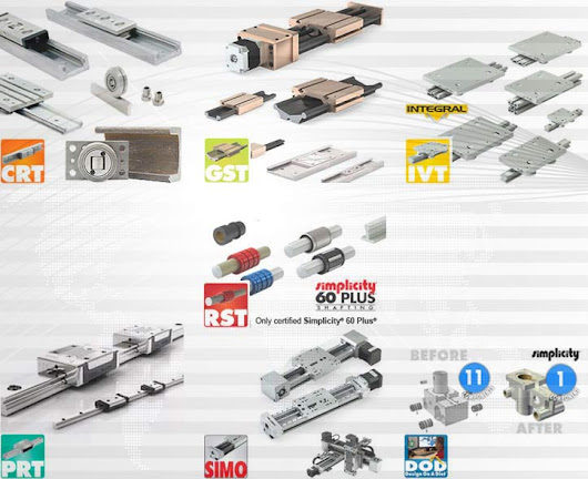PBC Linear a Pacific Bearing Company : Linear motion solutions – RCS & Associates