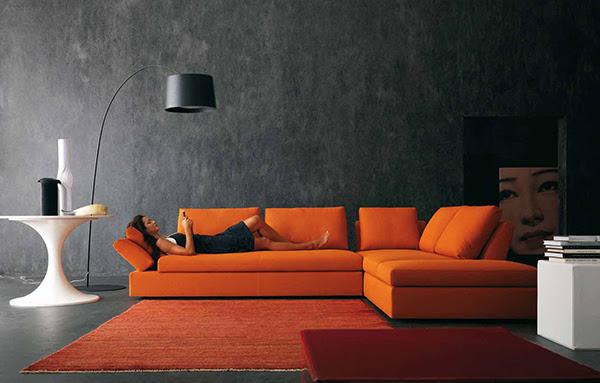 Contemporary Living Room Design Ideas, Inspiration in Bright ...