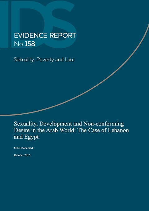 Sexuality, Development and Non-conforming Desire in the Arab World: The Case of Lebanon and Egypt