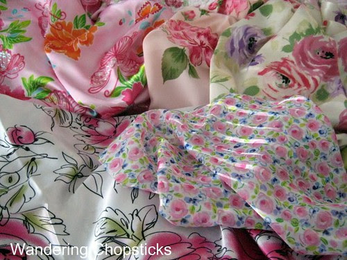 Frowsy Flowery Quilt 6