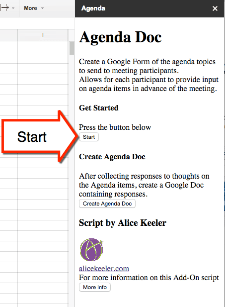 Agenda Doc: Send a Google Form and Create an Agenda - Teacher Tech