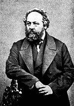 Mijaíl Bakunin, ideólogo político, defensor de la libertad individual y colectiva