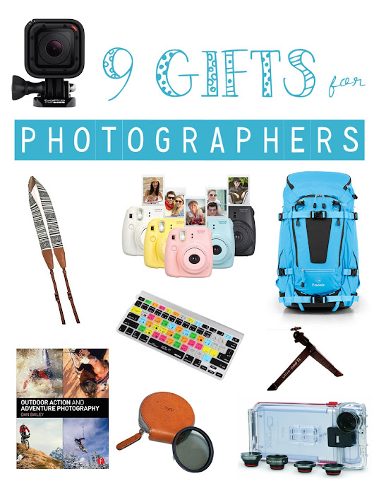 9 Awesome Gifts for Photographers - Bearfoot Theory