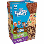 Rice Krispies Treats Crispy Marshmallow Squares Variety Pack