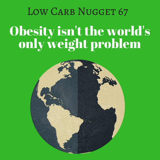 Obesity isn't the world's only weight problem (LCN 67) - Life After Carbs
