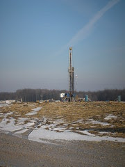 Fracking well, Parkman, OH