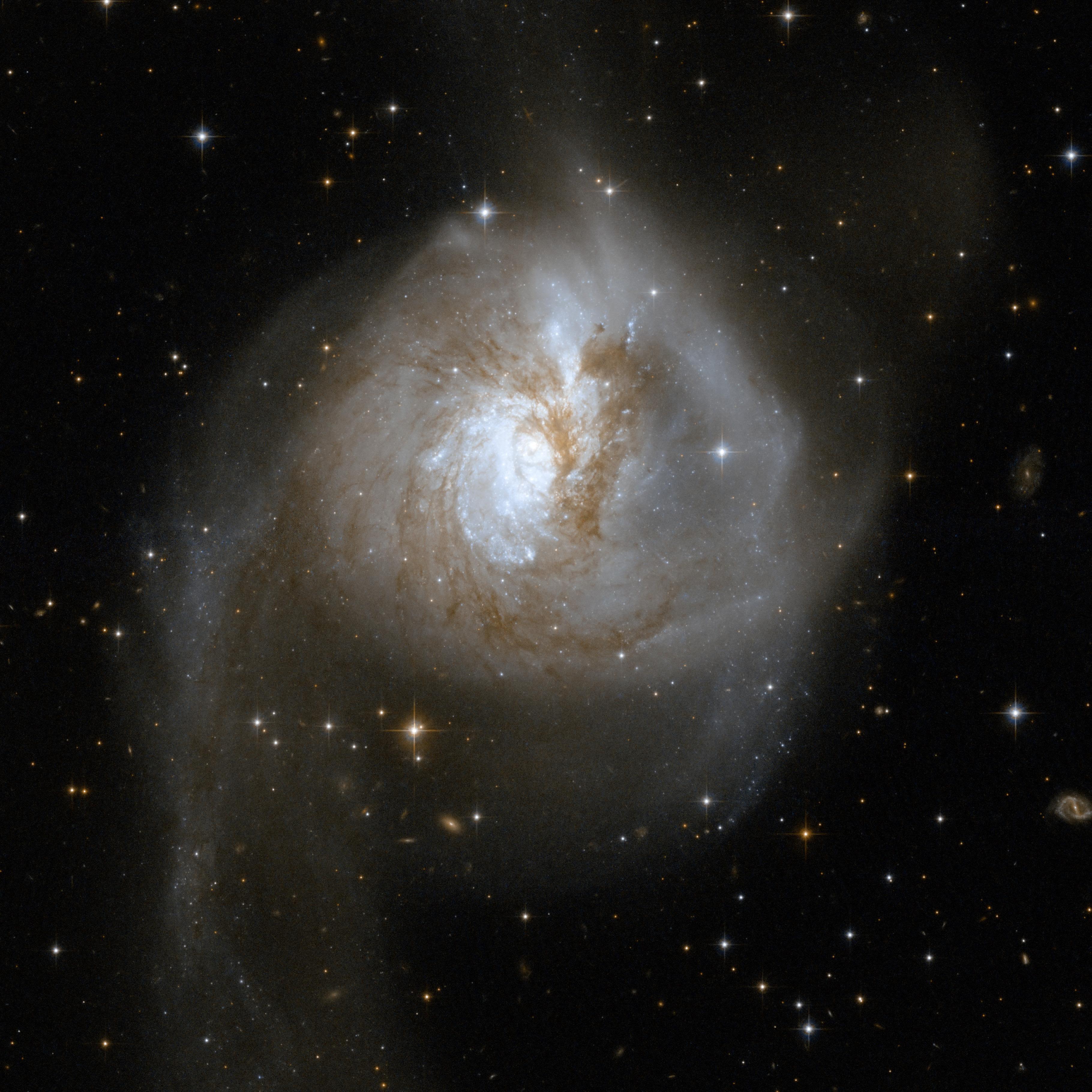 Cuando las galaxias chocan